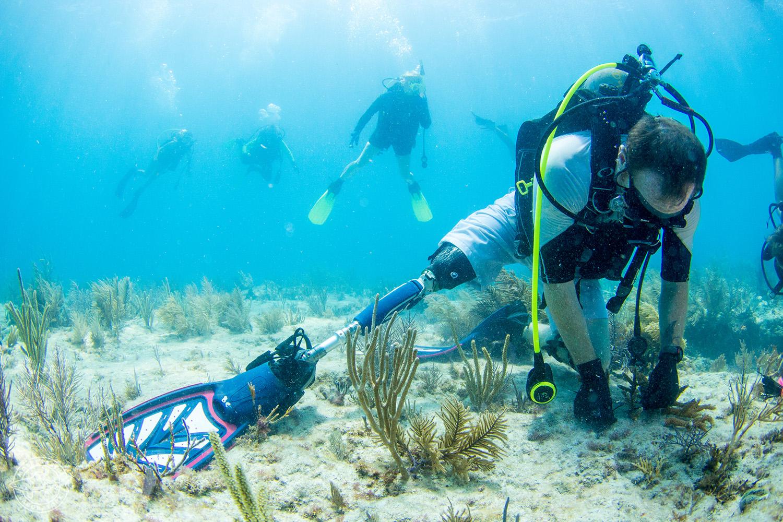 CWVC SCUBAnaut Coral Planting