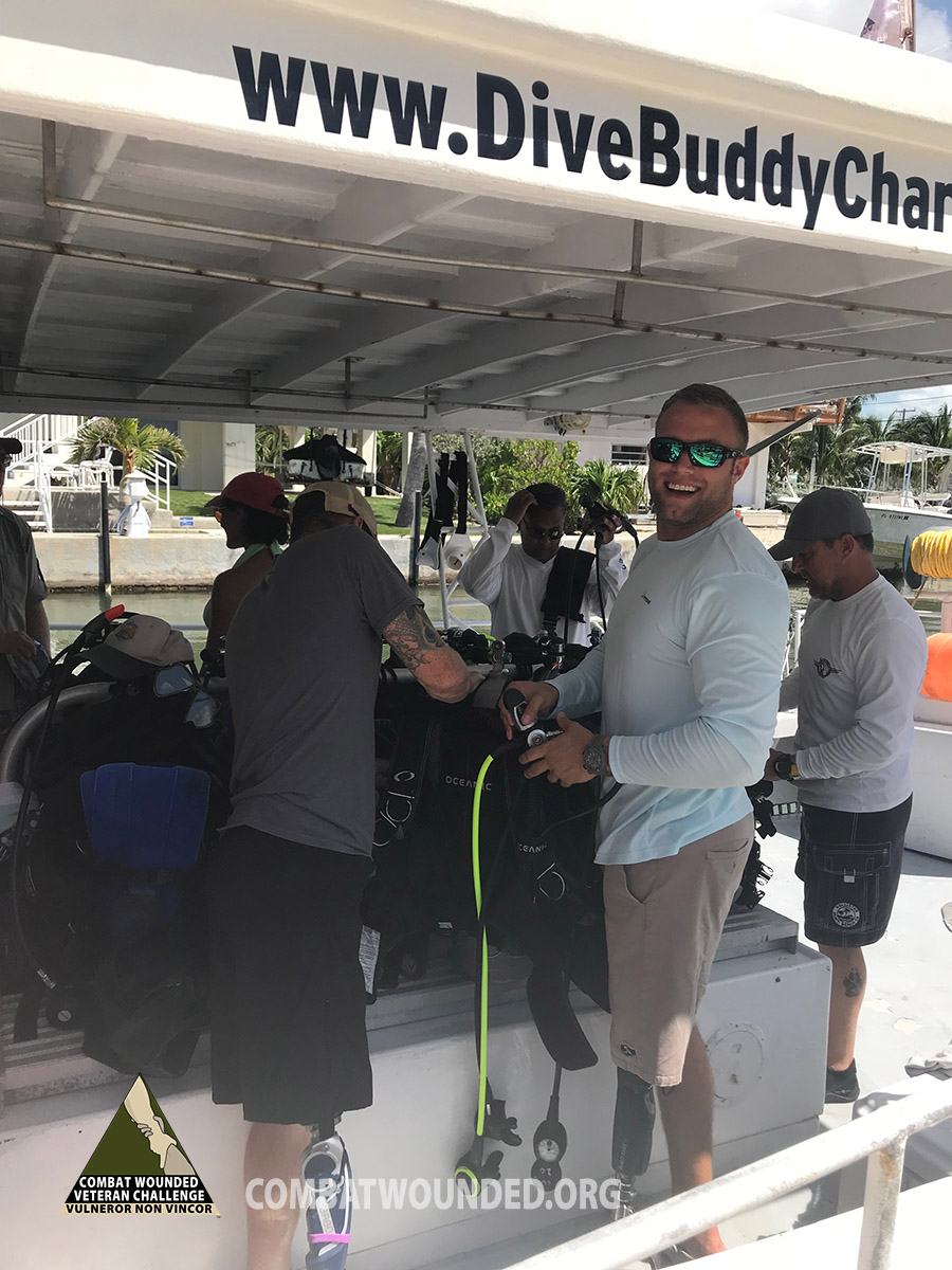 combat-wounded-scuba-day5-coral-nursery-boat
