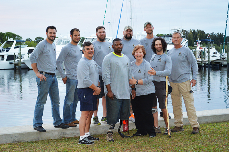 Combat Wounded VC Sailing Team Competes in St. Pete