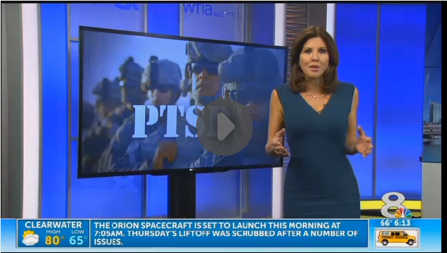 In the News: New promising PTSD treatment outside doctor's office