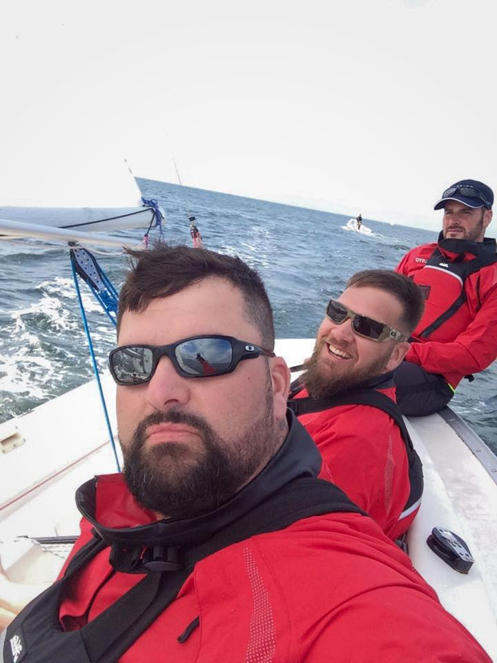 Challenge Warrior Sailing Selfie…