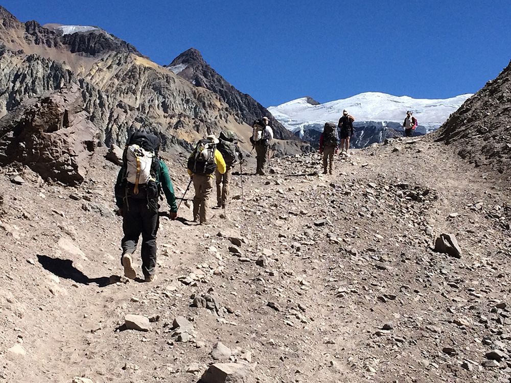 Progress from Aconcagua