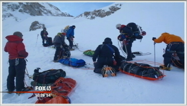 "In the News:  Fox News ""Wounded Warriors Climb Mountains"""
