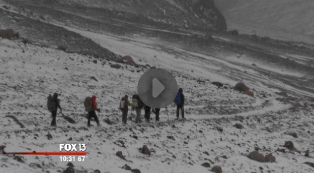 In the News: Combat-wounded vets successfully climb one of world's highest mountains