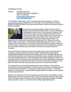 Press Release 01 March 2016