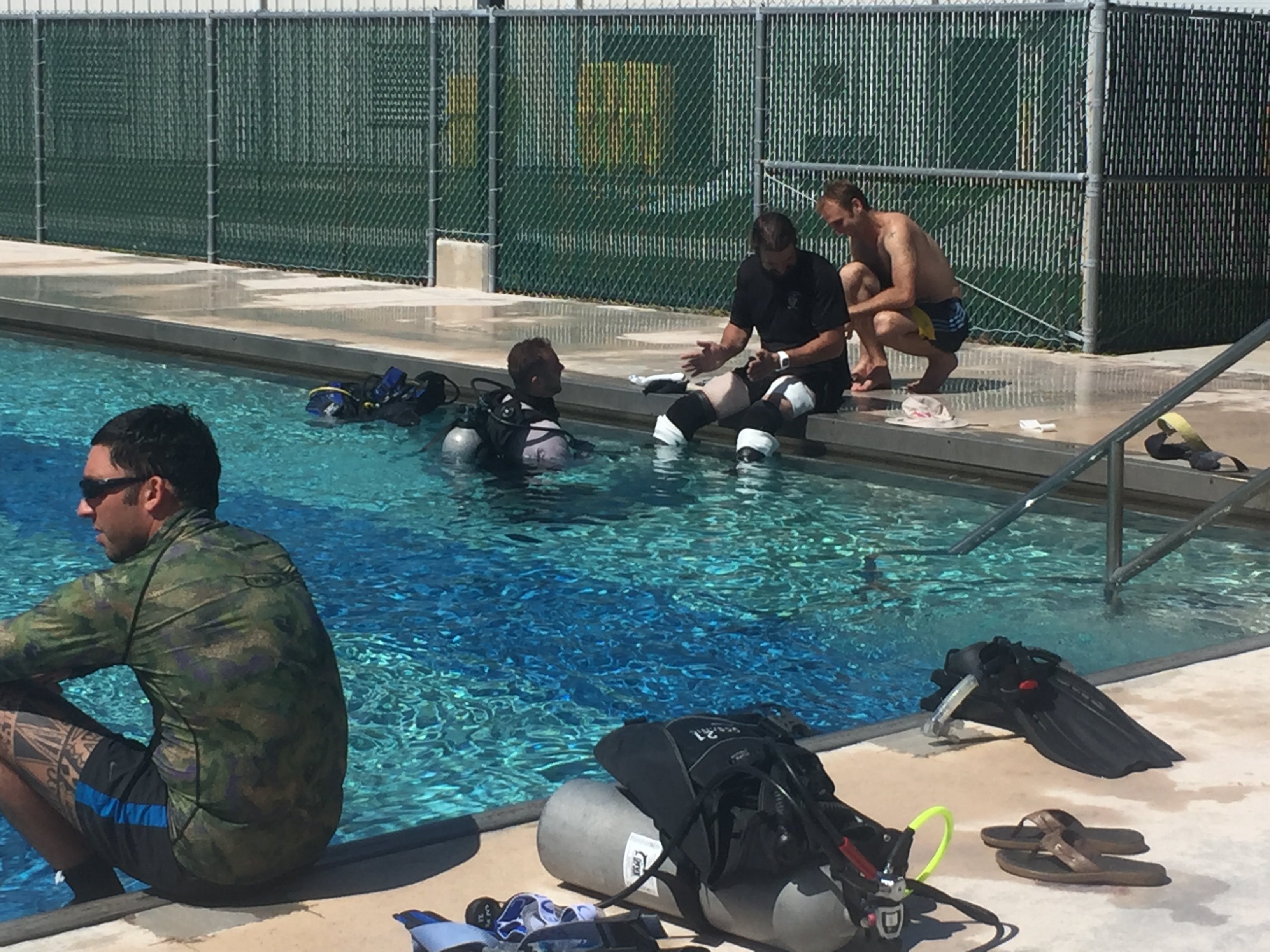 SCUBA Challenge 2017 – Day 1 – Orthotics and Prosthetics Research
