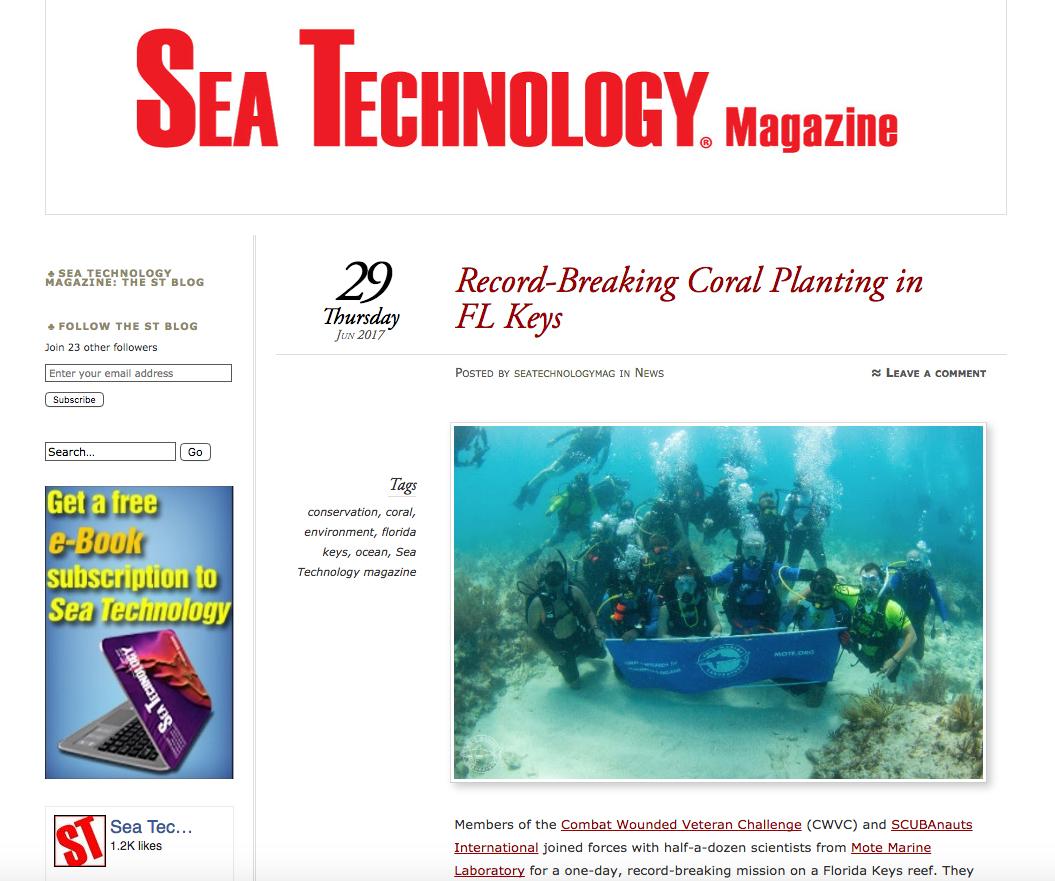 Record-Breaking Coral Planting in FL Keys