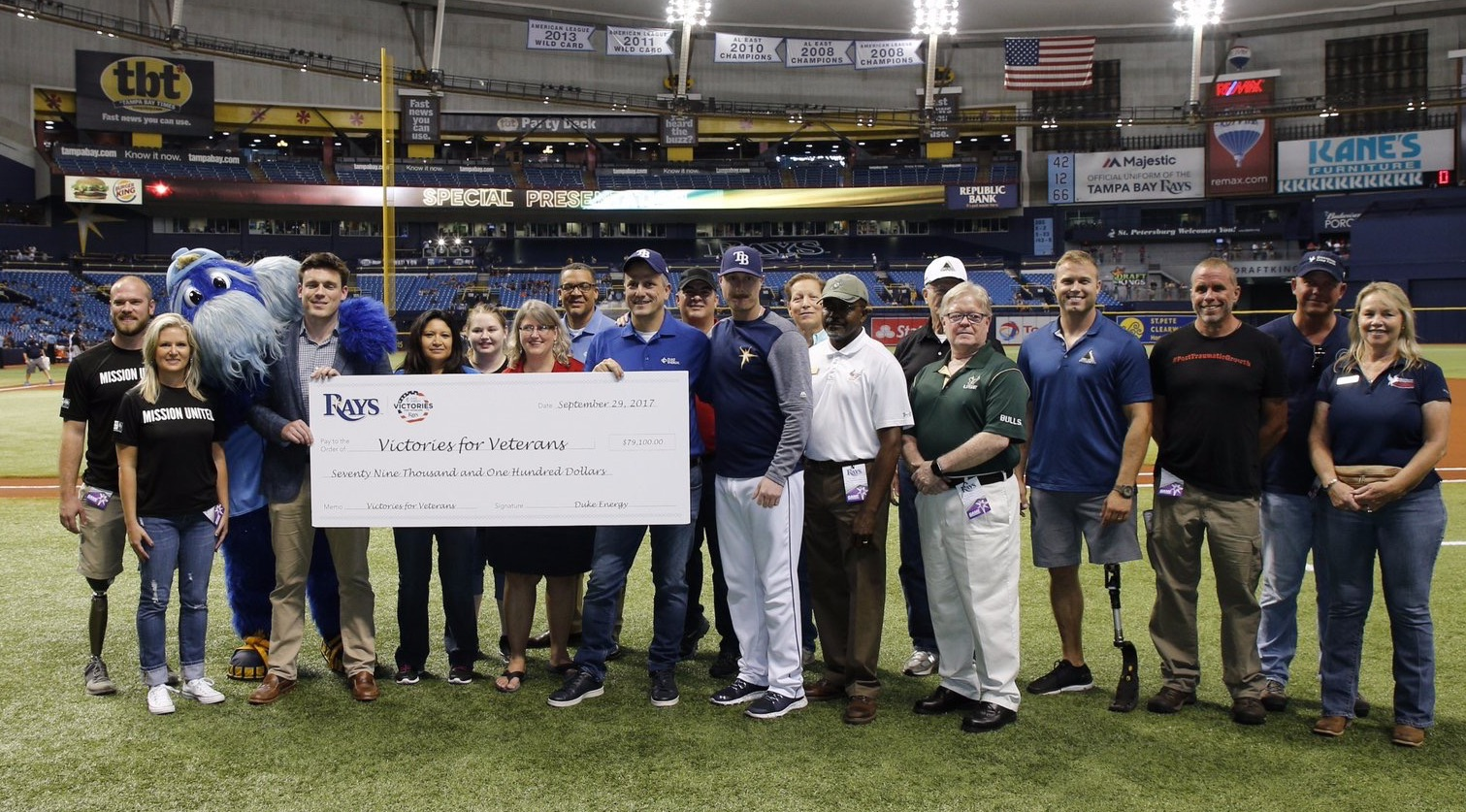 CWVC Honored with Victories for Veterans Grant Award by the Duke Energy Foundation
