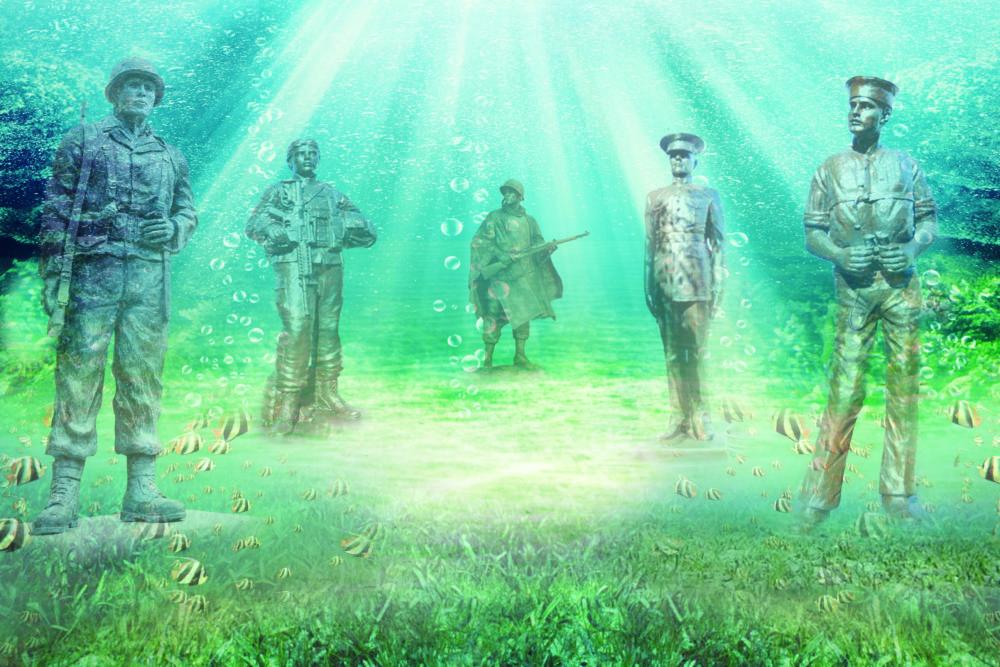 Underwater Veteran's Memorial
