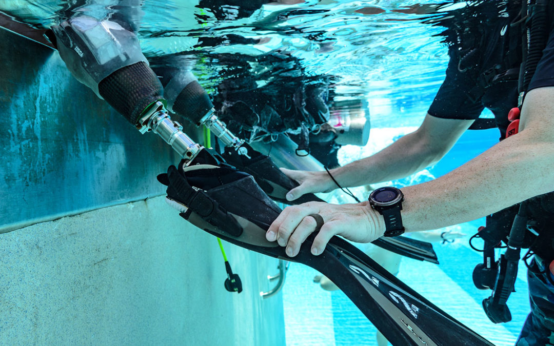 SCUBA Challenge 2019: Day Three – Orthotics & Prosthetics Research