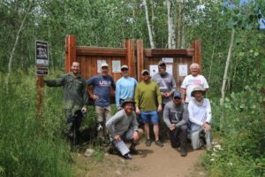 Combat Wounded Colorado Mountaineering Team 2019